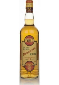 Rum Demerara Green Label Selez. Cadenhead\'s- 15 anni 0,70 lt.