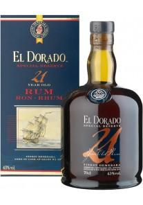 Rum El Dorado Demerara - 21 anni 0,70 lt.