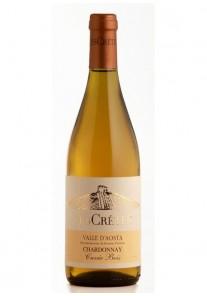 Chardonnay Les Cretes Cuvèe Bois 2013 0,75 lt.