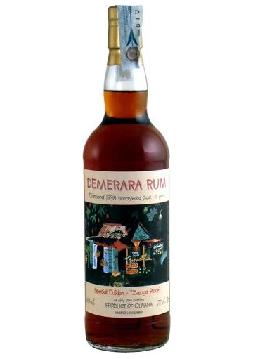 Rum Demerara Diamond 13-anni 1998 0,70 lt.