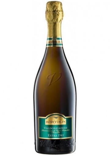 Prosecco Bortolin Valdobbiadene Extra Dry  0,75 lt.