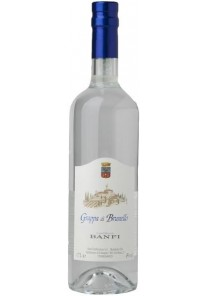Grappa Banfi Brunello 0,70 lt.