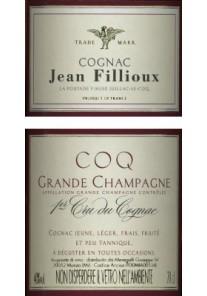 Cognac J. Fillioux 2000 I-er Cru 0,70 lt.