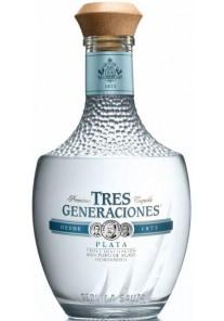 Tequila Plata Tres Generaciones Plata Sauza 0,70 lt.