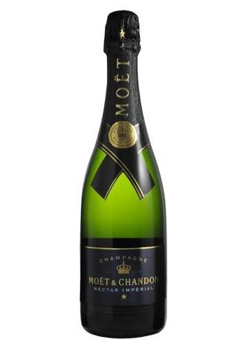 Champagne Moet & Chandon Nectar Imperial Demi Sec 0,75 lt.