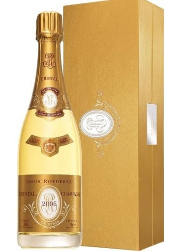 champagne louis roederer cristal brut 2007 con astuccio 0 75 lt. Black Bedroom Furniture Sets. Home Design Ideas