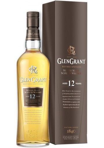 Whisky Glen Grant Single Malt 12 anni 0,70 lt.