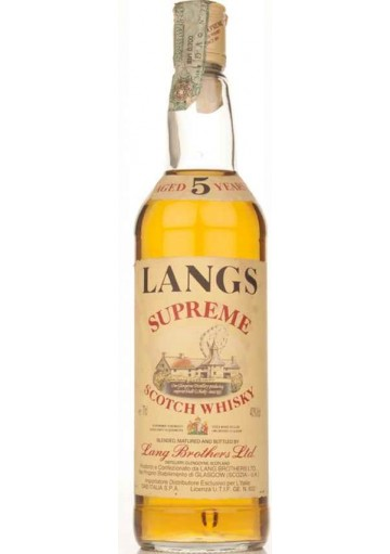 Whisky Langs Blended 5 anni 0,70 lt.