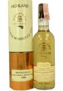 Whisky Strathisla Signatory Vintage11y 1989 0,70 lt.