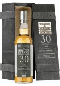 Whisky Caol Ila Single Malt 30 anni Selezione Wilson & Morgan 1984 0,70 lt.