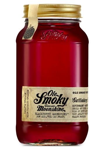 Whisky Moonshine Ole Smoky Blackberry 0,70 lt.
