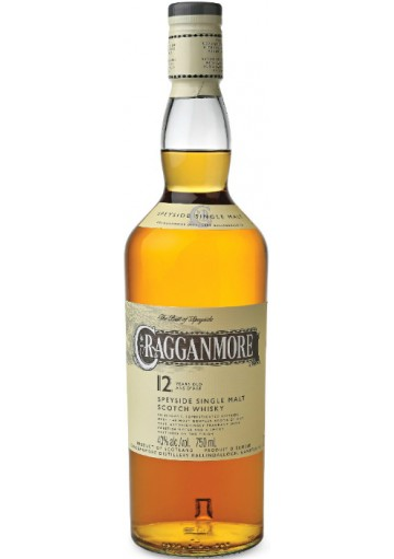 Whisky Cragganmore Single Malt 12 anni 0,70 lt.