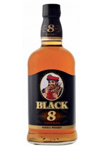 Whisky Nikka Black 8 anni 0,500 lt.