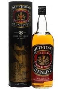 Whisky Dufftown Pure Malt 8 Anni Glenlivet 0,70 lt,
