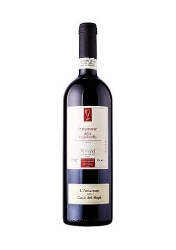 Amarone della Valpolicella classico Viviani Casa del Bepi 2008 0,75 lt.
