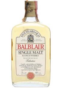 Whisky Balblair Pure Malt 5 Anni 0,70 lt.