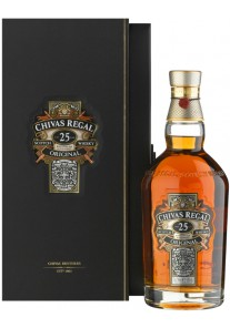 Whisky Chivas Regal 25 anni 0,75 lt.