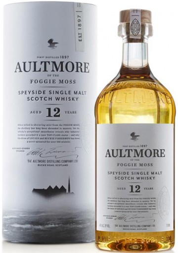 Whisky Aultmore 12 anni 0,70 lt.