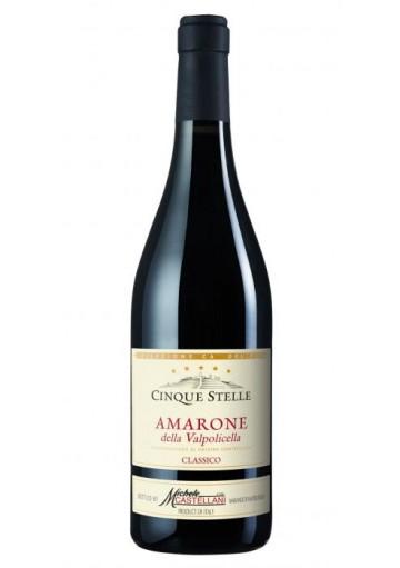 Amarone della Valpolicella classico Castellani Cinque Stelle 2010 0,75 lt.
