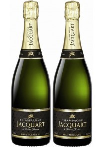 Champagne Jacquart Brut Mosaique Confezione 2 Bottiglie 0,75 lt.