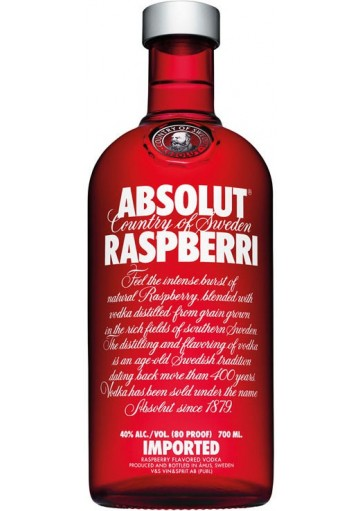 Vodka Absolut Raspberri 1 lt.
