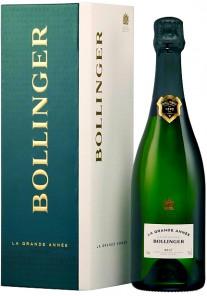 Champagne Bollinger La Grande Annèe (con astuccio) 2004 0,75 lt.