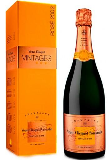 Champagne Veuve Clicquot Vintage Rosè Millesimato 2002 0,75 lt.