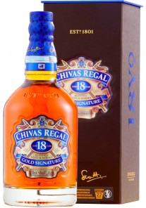 Whisky Chivas Regal 18 anni Gold Signature 0,70 lt.
