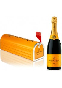 Champagne Veuve Clicquot Mail Box  0,75 lt.