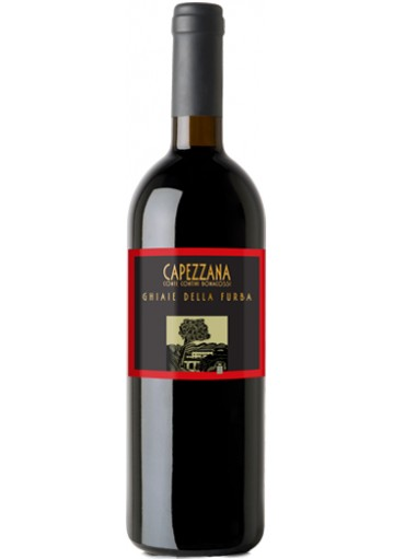 Capezzana Ghiaie della Furba 2001 0,75 lt.