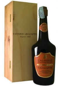 Calvados Lecompte 20 anni 0,70 lt.