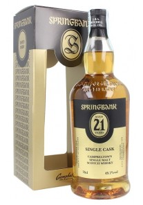 Whisky Springbank Single Malt 21 anni 0,70 lt.
