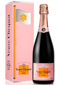 Champagne Veuve Clicquot Rose Flag 0,70 lt.