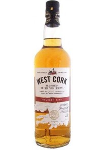 Whiskey West Cork irish bourbon cask 0,70 lt.