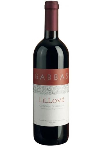 Cannonau di Sardegna Gabbas Lillove\' 2015 0,75 lt.