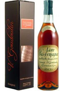 Bas Armagnac Goudoulin 1972 0,70 lt.
