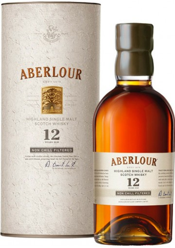 Whisky Aberlour Single Malt 12 anni Non Filtered 0,70 lt.