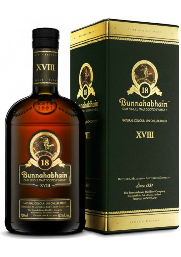 Whisky Bunnahabhain Single Malt 18 anni 0,75 lt.