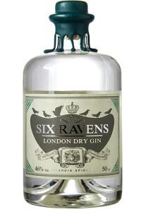Gin Six Raven\'s 0,70 lt.