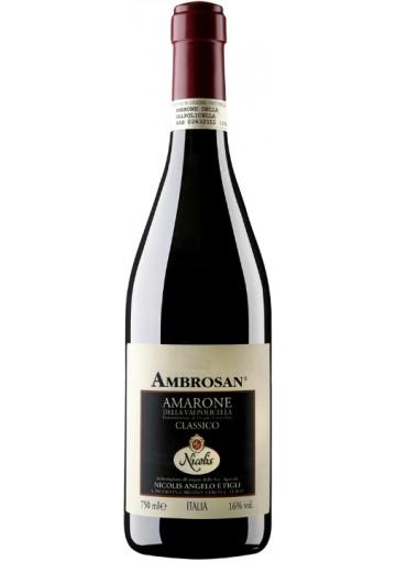 Amarone della Valpolicella classico Nicolis Ambrosan 2007 0,75 lt.