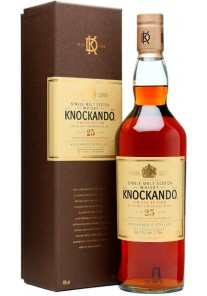 Whisky Knockando Single Malt 25 anni Limited Edition 0,70 lt.