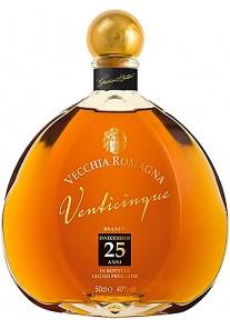 Brandy Vecchia Romagna 25 Anni 0,50 lt.