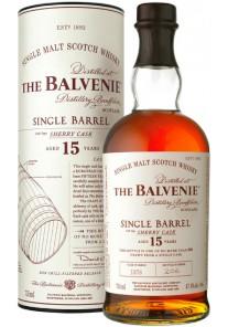 Whisky Balvenie Single Malt 15 anni Single Barrel sherry cask 0,70 lt.