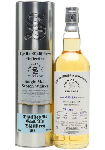 Whisky Caol Ila Single Malt 12 Anni Sel. Signatory Unfiltered 1990 0,70 lt.