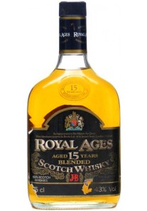 Whisky Royal Ages 15 Anni J&B 0,75 lt.