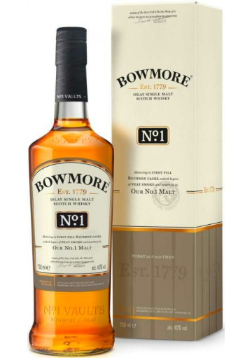Whisky Bowmore Single Malt No°1 0,70 lt.