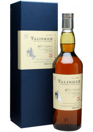 Whisky Talisker Single Malt - 25 anni 0,70 lt.