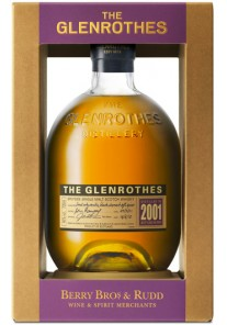 Whisky The Glenrothes Single Malt 2001 0,70 lt.