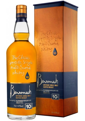 Whisky Benromach Single Malt 10 Anni 0,70 lt.