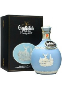 Whisky Glenfiddich 21 anni Wedgwood Ceramic Decanter 0,70 lt.